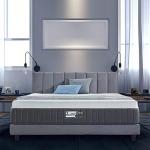 BedStory Gel-Bamboo Charcoal Memory Foam Mattress, 10 Inch