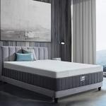 BedStory 12 Inch Gel-Bamboo Charcoal Memory Foam Mattress