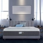 BedStory 12 Inch Gel-Bamboo Charcoal Memory Foam Mattress, Queen