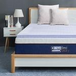 BedStory Memory Foam Mattress Topper Queen, 3 Inch Lavender Infused Memory Foam Topper with Microfiber Fitted Cover