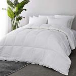 50% Coupon Code for Bedsure Cotton Shell Comforter Queen Size