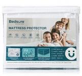 Bedsure 100% Waterproof Mattress Protector Queen Size (60 x 80 inches)