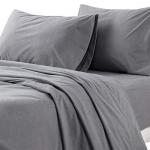 Bedsure Flannel Bed Sheet Set, 3-Piece