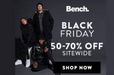 Bench Black Friday Sale 2018