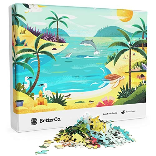 Better Co. Beach Day Puzzle, 1000 Pieces