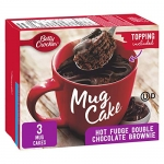 Betty Crocker Mug Cake Hot Fudge Double Chocolate Brownie