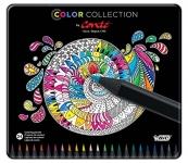 BIC Conté color collection adult coloring pencils assorted box of 24