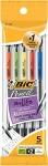 BIC Mechanical Pencils, Black, 0.7mm, 5-pack