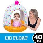 Lil' Cute Ice Cream Cone Float with Canopy