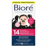 Bioré® Deep cleansing Charcoal Pore Strip Value Pack 14-Count