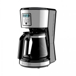 BLACK + DECKER 12 Cup Programmable Coffee Maker, Stainless Steel