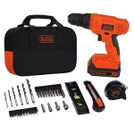 BLACK + DECKER 20V Lithium Drill/Driver Project Kit