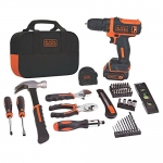 BLACK + DECKER BDCDD12PK 12-Volts Max Lithium Ion Drill/Driver Project Kit