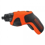 BLACK + DECKER 4-Volt Max Lithium-Ion Cordless Rechargeable Screwdriver