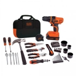 BLACK + DECKER LDX120PK Lithium Drill and Project Kit, 20-volt