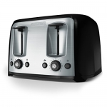 BLACK+DECKER Toaster, 4 Slice, Extra Wide Slots