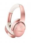 Bose QuietComfort 35 Wireless Headphones, with Alexa, Rose Gold