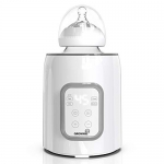 GROWNSY Single Bottle Sterilizer 6-in-1 Fast Baby Food Heater & Defrost