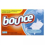 Bounce Fabric Softener Dryer Sheets, Fresh Linen, 200 Count