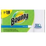 Bounty Select-A-Size Paper Towels, White, 12 Giant Rolls Equal To 18 Regular Rolls, 12 Count