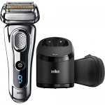 Braun Series 9 Electric Shaver with clean & charge station
