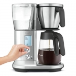Breville Precision Brewer Glass, 12 Cup, Stainless Steel