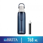 Brita Premium Filtering Water Bottle with Filter, BPA-Free, 768 mL