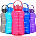 BuildLife Motivational Gallon Water Bottle