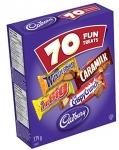 Cadbury Fun Treats Chocolate, 70 Count