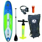 California Board Company 11′ Nautic Inflatable Stand up Paddle Board Bundle