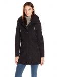 Calvin Klein Women's Quilt Jacket with Faux Fur