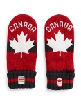Canadian Olympic Team 2018 Red Mittens
