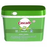 Cascade ActionPacs Dishwasher Detergent Soap, Original Scent, 60 Count
