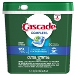 Cascade Complete Dishwasher Pods, Fresh Scent, 90 Count