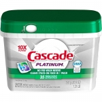 Cascade Platinum ActionPacs Dishwasher Detergent, Fresh Scent, 75 count