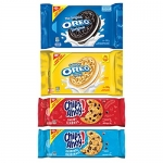 Christie Oreo & Chips Ahoy! Cookie Variety Pack, Family Size, 4 Packs