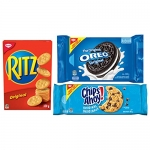 Christie Oreo, Chips Ahoy! & Ritz Variety Snack Pack, Family Size, 3 Packs