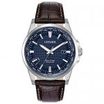 Citizen Men's World Time Perpetual Calendar Japanese-Quartz Blue Watch