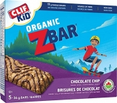 CLIF KID ZBAR, Chocolate Chip, 5 Count