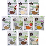 Club House, Organic Pantry Essentials Pack, 10 Count
