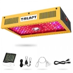 Full Spectrum 1000W COB Reflector Series LED Grow Light with Single Switch