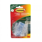 Command Outdoor Light Clips, Clear