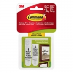 Command Picture Hanging Strips, Small and Medium, White