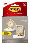 Command Display Floating Wall Shelves, 2 Ledges 8 Strips, Quartz