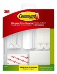 Command Picture Hanging Kit, White, 38 Piece Kit