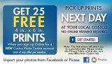 Costco Photo Centre – Free Prints When You Sign Up