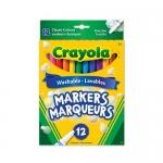 Crayola 12 Washable Fine Line Markers