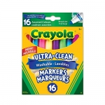 Crayola 16 Washable Broad Line Markers, Colossal