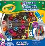 Crayola 50 Telescoping Pip-Squeaks Telescoping Mini Marker Tower