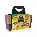 Crayola Colour Caddy, Travel Art Set, 90+ Pieces